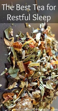 The Best Tea for Restful Sleep This blend of herbs will help relax your body, quiet the mind, and induce restful sleep.