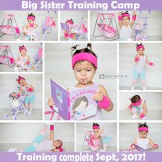 Big sister announcement Big sister in training Vani Line Photography