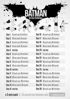 Neila Rey's Batman Challenge - Coregasms - By Women For Women