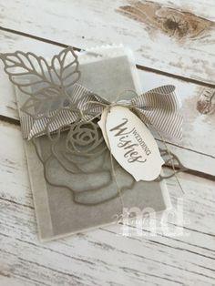 wedding-rose-bag - SU - Rose Wonder, Rose Garden Thinlits