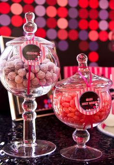 This glamorous PINK DISCO BIRTHDAY PARTY was submitted by Yolanda Cerra of Kiss Me Kate Cakes, Cookies and Events. http://www.karaspartyideas.com/2013/07/disco-party.html