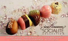 Anna Shea Chocolates & Lounge founded by Anna, an Ecole Chocolat Graduate Chocolate Brands, Chocolate Shop, Best Chocolate, How To Make Chocolate, Homemade Chocolate, Shake Your Bon Bon, Praline Chocolate, Candy Factory, Anna Banana