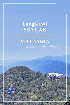 What to expect when taking Langkawi SkyCab to the Sky Bridge in Langkawi, Kedah, Malaysia, even when you have fear of heights. Read on for more photos & tips   http://www.rambleandwander.com/2017/01/malaysia-langkawi-skycab-sky-bridge.html
