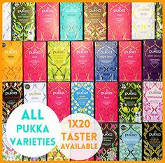 Pukka Herbal Tea Teas All Varieties Available Love, Mint, Licorice, Night, Green in Home, Furniture & DIY, Food & Drink, Tea/ Tea Making | eBay