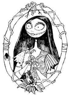 nightmare before christmas coloring pages bing images holiday - Nightmare Before Christmas Coloring Pages