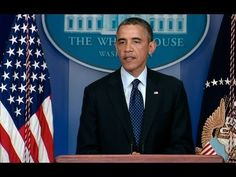 President Obama Speaks on the Explosions in Boston