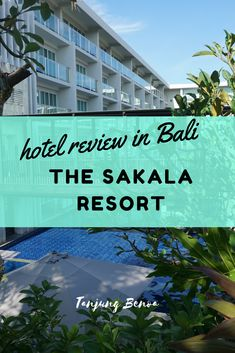 Welcome to the Sakala Resort, where every day is a luxury in the Tanjung Benoa area of Bali. Relax, swim or drink cocktails, the choice is yours.
