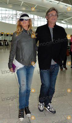 Goldie Hawn & Kurt Russell at Heathrow heading to Turkey - May 2014 Goldie Hawn Kurt Russell, Turkey Photos, Heathrow Airport, Kate Hudson, Celebs, Celebrities, Celebrity Pictures, Sexy Men, Stars
