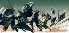 The Four Elements Specialized | by Ctreuse109 | Earth | Metalbending | The Last Airbender | Legend of Korra | Avatar