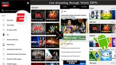 Watch Sports Live Streaming With ESPN Apk On Android Device https://youtu.be/0qJBApcGf74
