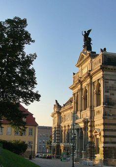 The Albertinum in old Dresden, Saxony, Germany. #ToHellAndBack #MariaRosaAuthor #Dresden #Albertinum #Saxony #Germany #EU #travel #architecture #Europe #history