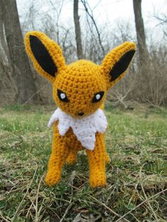 #135 jolteon crochet