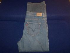 """LEVI'S 512 """"PERFECTLY SHAPING"""" WOMENS BOOT CUT BLUE JEANS 20W #Levis #BootCut"""