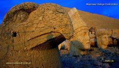 TURCJA - góra Nemrut Dagi... jedno z miejsc na ziemi takich jak egipskie piramidy czy Stonehenge... #Turkey #Nemrut Dagi #World heritage