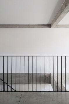 law firm RV by Koen Van Damme, via Behance Escalier Jupille