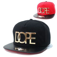 c24251a2519 New Hot fashion baseball Snapback Hat Hip-Hop adjustable bboy Cap black red