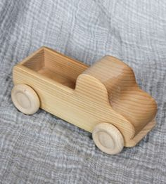 Image of Wooden Truck