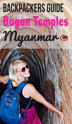 Budget Backpackers Travel Inspiration for Bagan Temples in Myanmar. A Guide to explore the stunning temples by motorbike independently| Globemad Adventure Blog