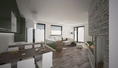Dizajn a návrh interiéru bytu vo vila dome, Bratislava Bratislava, Oversized Mirror, Interior Design, Furniture, Home Decor, Nest Design, Decoration Home, Home Interior Design, Room Decor