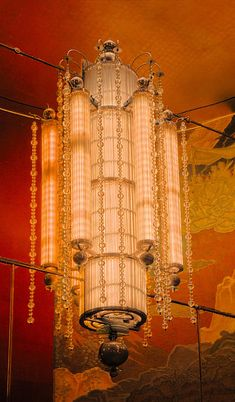 Art Deco Hanging Light