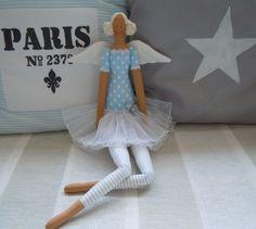 Modrá baletka …