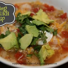 Shrimp Enchilada Soup
