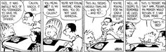 Calvin and Hobbes strip for February 28, 2017