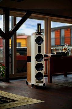 "Wiener Lautsprecher Manufaktur (WLM) ""Franz"" fully active loudspeaker..."
