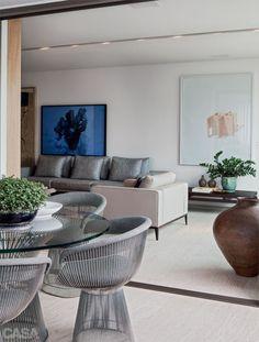 Apartamento mineiro tem móveis tradicionais com novo visual - Casa