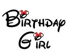 Disney Mickey or Minnie Birthday Boy or Girl Custom Iron on Transfer Decal(iron on transfer, not dig Minnie Birthday, Disney Birthday Quotes, Happy Birthday Disney, Birthday Wishes Girl, Birthday Girl Quotes, Birthday Greetings, Girl Birthday, Birthday Cards, 30th Birthday