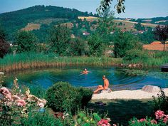 Recreate halcyon days of meeting friends at a perfect swimming hole - but without worrying about leeches, bacteria, pollution, or other problems.