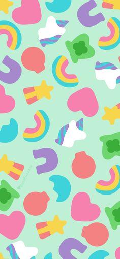 March 2020 Lucky Charms Calendar Wallpaper - Sarah Hearts