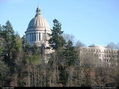 Olympia, Washington: We've made lots of school field trips here! Our daughter served as a page for one of the legislators.