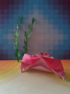 Origami Crab Design : ashimura shunichi Folded by me