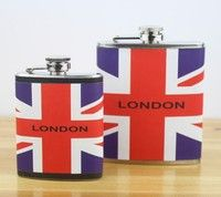 7oz & 4oz Stainless Steel Hip Flask Liquor Alcohol Drink Whisky Pocket Bottle   Specifications:  Material: Stainless Steel + all kinds of painting Color:random Capacity: 7OZ & 4OZ  Features:  Durable and practical  Stylish painting surface design  Portable,very easy to carry and take your favorite wine with you wherever you go  Comes with a screw top cover with holder, so that you can't loose after you open it  The stainless steel flasks are virtually unbreakable and are constructed