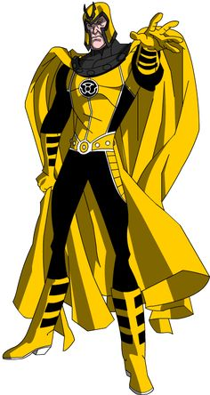 Magneto - Yellow Lantern by Milo619.deviantart.com on @deviantART