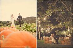 october wedding.