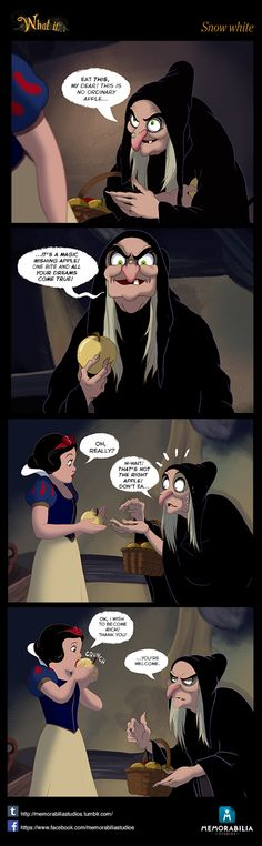 What If...Episode 1: Snow white by Memorabilia Studios. Don't miss our Facebook page and our Tumblr blog! :D