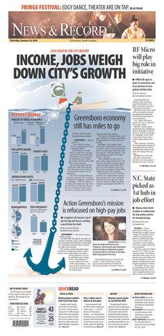 News & Record, published in Greensboro, North Carolina USA