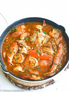 I Heart Gumbo! It just blends right in with my African Cuisine -spicy, substantial, well seasoned, full of amazing ingredients … I added Gumbo Base seasoning to fill in mistakes. Cajun Recipes, Seafood Recipes, Dinner Recipes, Cooking Recipes, Healthy Recipes, Louisiana Recipes, Haitian Recipes, Spicy Seafood Gumbo Recipe, Chicken Shrimp And Sausage Gumbo Recipe