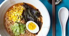 Hot Miso Ramen Noodles