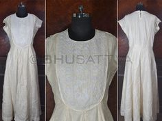 BWD 459 : Certified #Organic #Kurta with beed work yoke.  BhuSattva - True Essence of Earth (www.bhusattva.com)