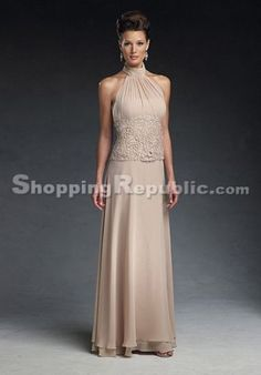 kinda love this for a mother of the bride dress...