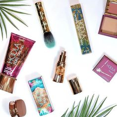 Double tap of you're in need of a #hooladay. Get ready to take home the bronze with our BRAND NEW hoola goodies launching nationwide this weekend! Your favourite beach-in-a-box bronzer is now joined by two NEW TANtalizing beauties: dew the hoola soft-matte liquid bronzer and hoola zero tanlines allover body bronzer. Its the most believable head-to-toe glow without the gleam! by benefitcosmeticsuk