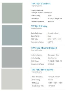 I mention color trends and paint color ALL the time, after all, it's my world! I want to share with you the one paint fan deck that has not left my side for quite some time now. Sherwin Williams, C. Interior Paint Colors For Living Room, Paint Colors For Home, Interior Colors, Interior Ideas, Room Colors, House Colors, Blue Gray Paint, Trending Paint Colors, Farmhouse Paint Colors