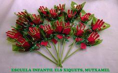 Senzilles roses de Sant Jordi