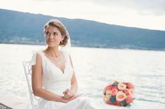 Valentine in this worderful place with her dress Marie Laporte #marielaporte #bride #wedding #weddingdress