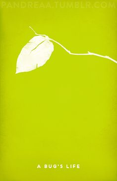 Minimal Movie Poster: A Bug's Life