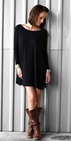 Hey, I found this really awesome Etsy listing at https://www.etsy.com/listing/168444883/womens-piko-tunic-in-black-long-dolman