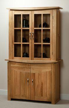 Tokyo Natural Solid Oak Glazed Dresser | Dining Room Furniture